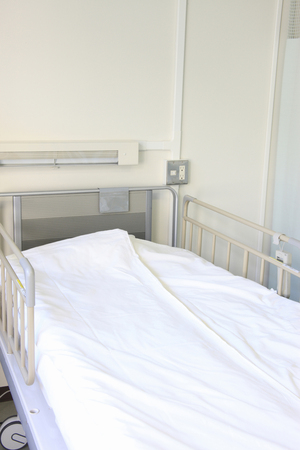 fostering: Hospital bed Stock Photo