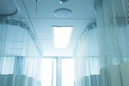 hospital room: Hospital curtains