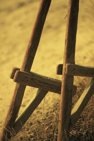 zancos: Stilts Foto de archivo