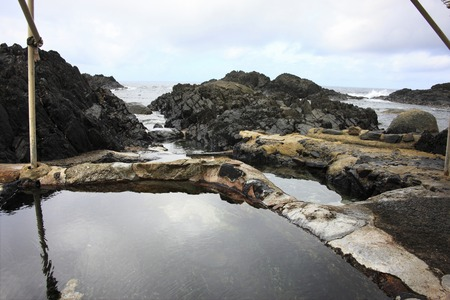 hot springs: Hirauchi underwater hot springs