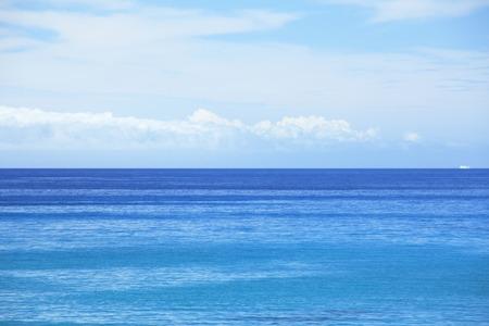 cielo y mar: Mar y cielo Foto de archivo