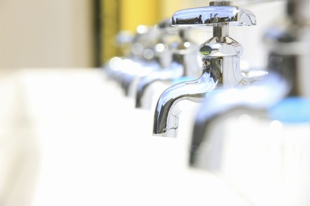 cleansed: Water service Stock Photo
