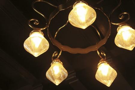 lighting fixtures: Aparatos de iluminaci�n Foto de archivo