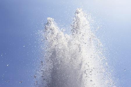 splashing water: Water fountain