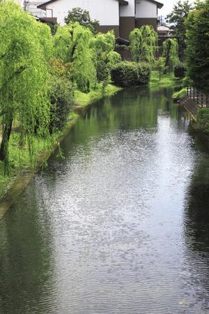 waterway: Uji River Stock Photo