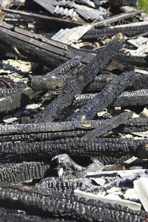 burnt: Burnt timber