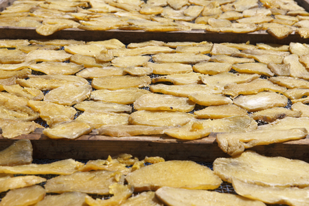 preservative: Dried potato Stock Photo