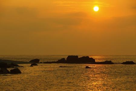 sata: Sunset at Cape SATA Stock Photo