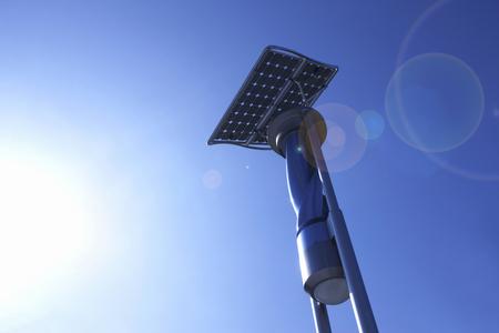 太陽光発電や風力発電設備 写真素材 - 47198681