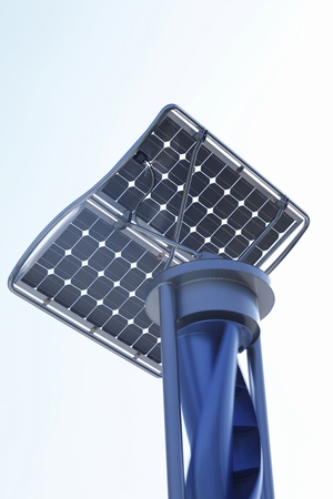 Solar and wind power generation equipment