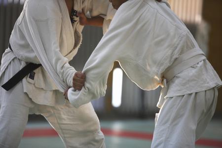 dojo: Judo Stock Photo