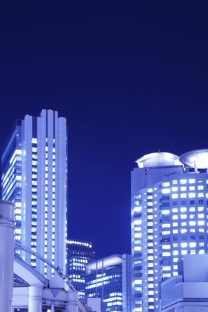 kita: The night view of Osaka, Umeda