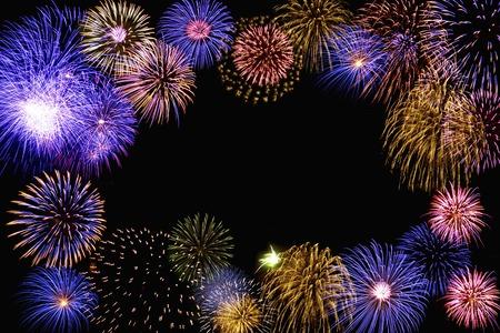 night background: Fireworks images