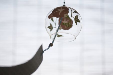 coolness: Sudare and wind chimes