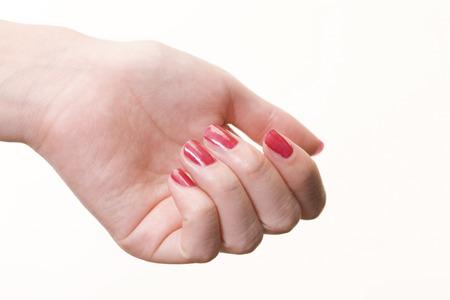 Women of red nail polish