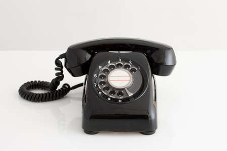 black: Black telephone