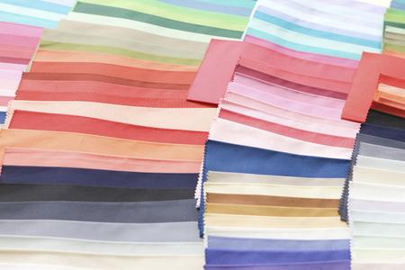 色布を調整 写真素材