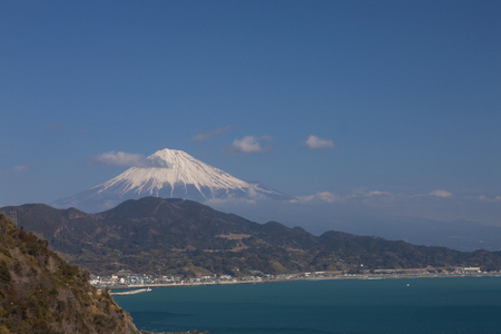 toge: Mount Fuji from Satta pass