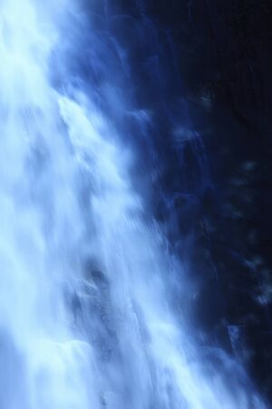 negative area: Nachi waterfall