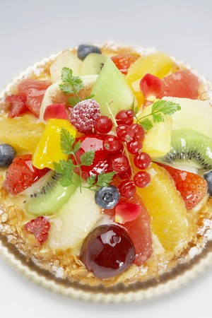prefecture: Fruit tart