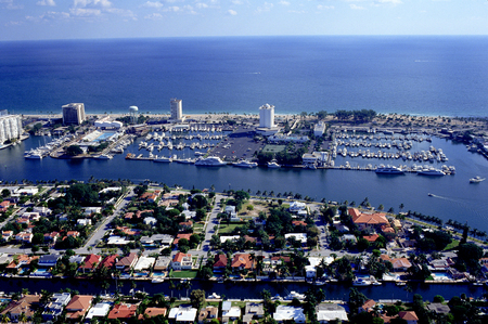 ft lauderdale: Waterfront Aerial