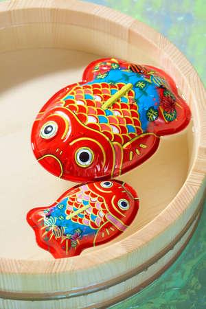 tin: Tin goldfish