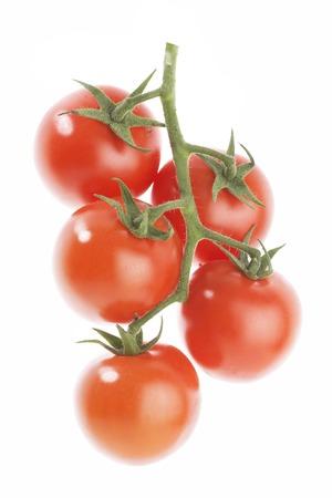 tomate cherry: Ramificación del tomate de cereza con