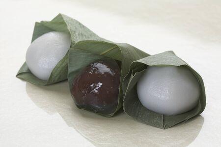 debris: Sasamochi and debris mochi dumpling