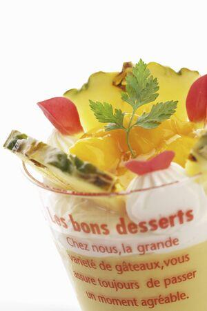 pudding: Mango pudding