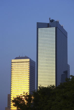 onboard: Osaka Business Park Stock Photo