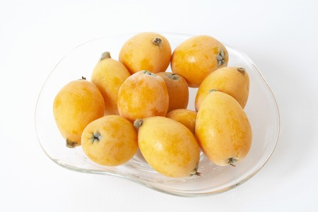 yield: Yield of loquat Stock Photo