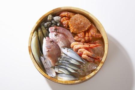 Fish and shellfish 版權商用圖片