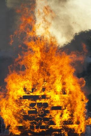 bonfires: Tenjin, bonfires