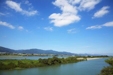 sandbank: Tokushima Prefecture Yoshino