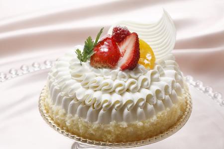 at white: White cake