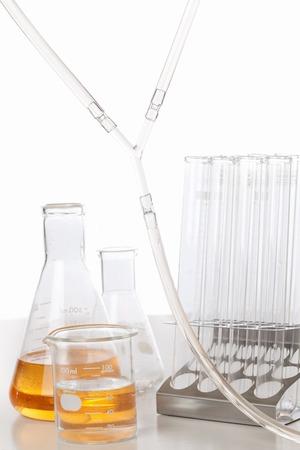 laboratory labware: Experimental tool Stock Photo
