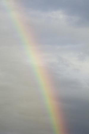 the natural phenomena: Rainbow