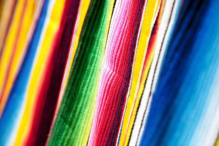 カラフルな布
