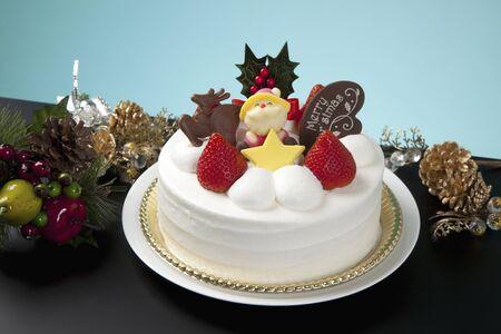 christmas decor: Christmas cake
