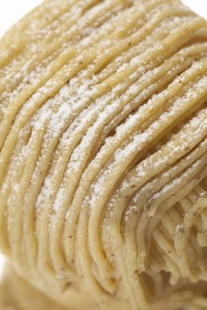 blanc: Mont Blanc cake