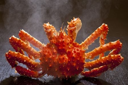 crab: King crab to go up in hot water