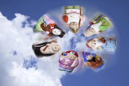 Sky gods fly 版權商用圖片