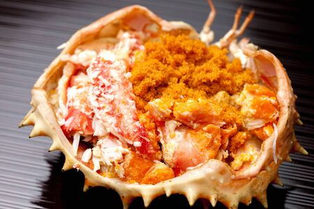 Shelled of king crab