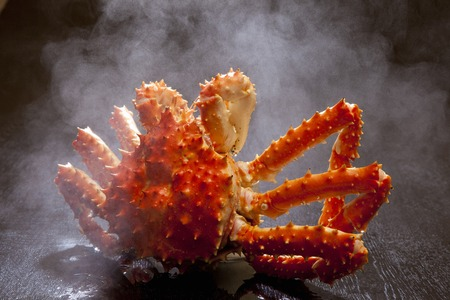 go up: King crab to go up in hot water
