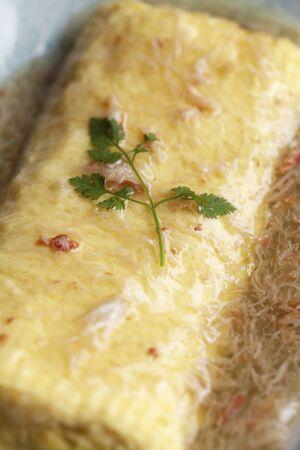 dashi: Dashi winding of crab sauce