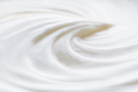 Texture of cream