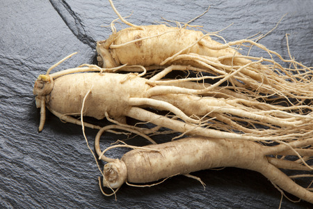 foodstuff: Korean ginseng Stock Photo