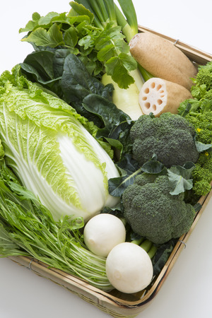 potherb: Winter vegetables