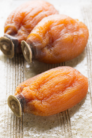 preservative: Dried persimmon