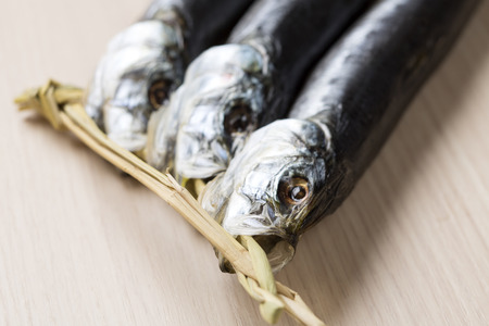 processed food: Sardines of dried fish